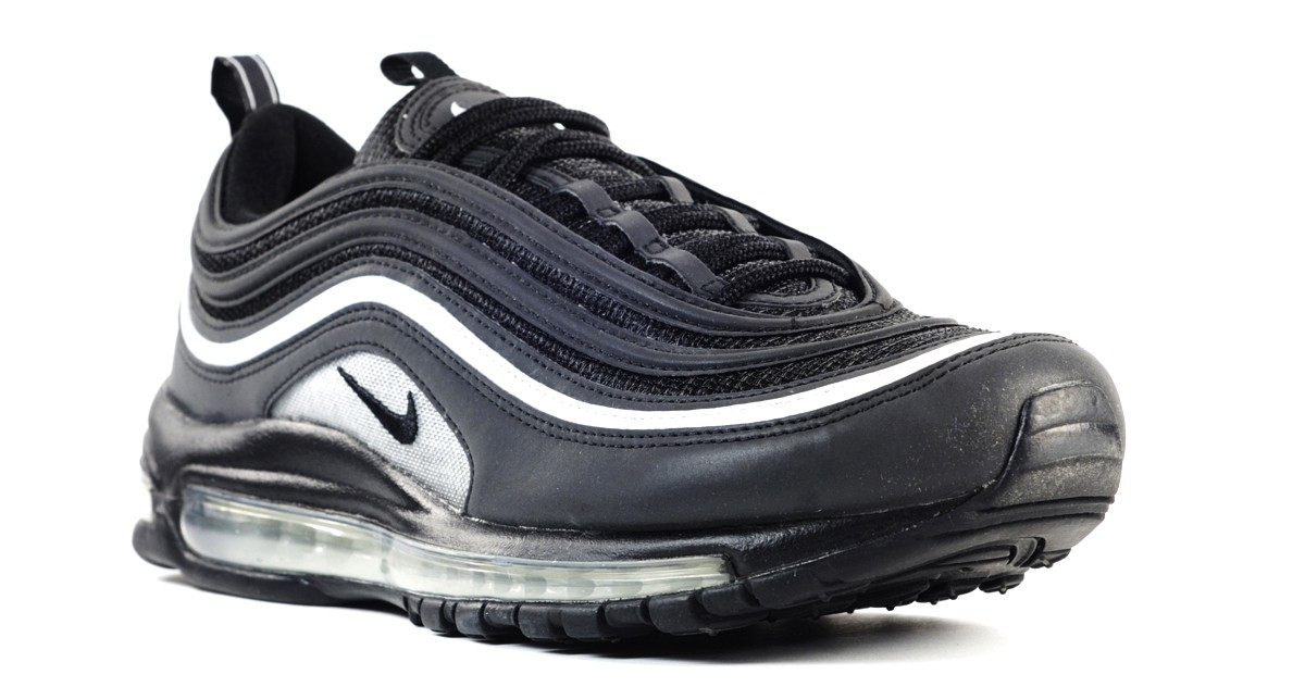 air max silver nere
